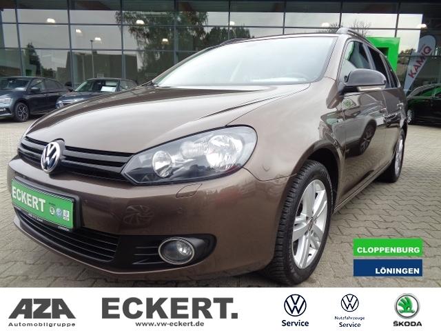 Volkswagen Golf VI Variant 1.2 TSI Match, Jahr 2012, Benzin