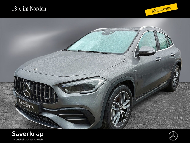 Mercedes-Benz AMG GLA 35 4M Sitzklima/Perf. Sitze/Burmester, Jahr 2020, Benzin