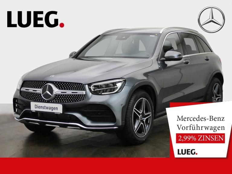 Mercedes-Benz GLC 300 d 4M AMG+LEDER+SITZKLIMA+AHK+TOTW+KAMERA, Jahr 2020, Diesel