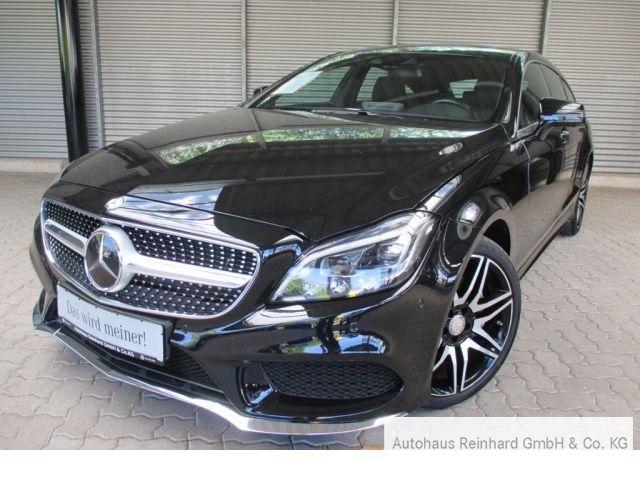 Mercedes-Benz CLS 400 Shooting Brake AMG+AHK+SHD+Memo+360+ILS, Jahr 2015, Benzin