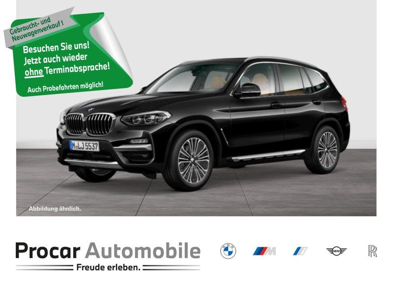 BMW X3 xDrive20d Luxury Aut NavPro HuD Pano elSz AHK 19 LED, Jahr 2018, Diesel