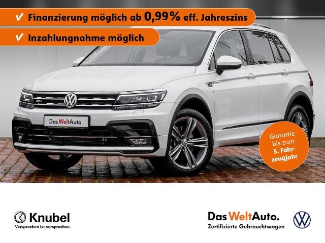 Volkswagen Tiguan R-Line Highline 2.0 TDI 4M. DSG Leder AHK, Jahr 2020, Diesel