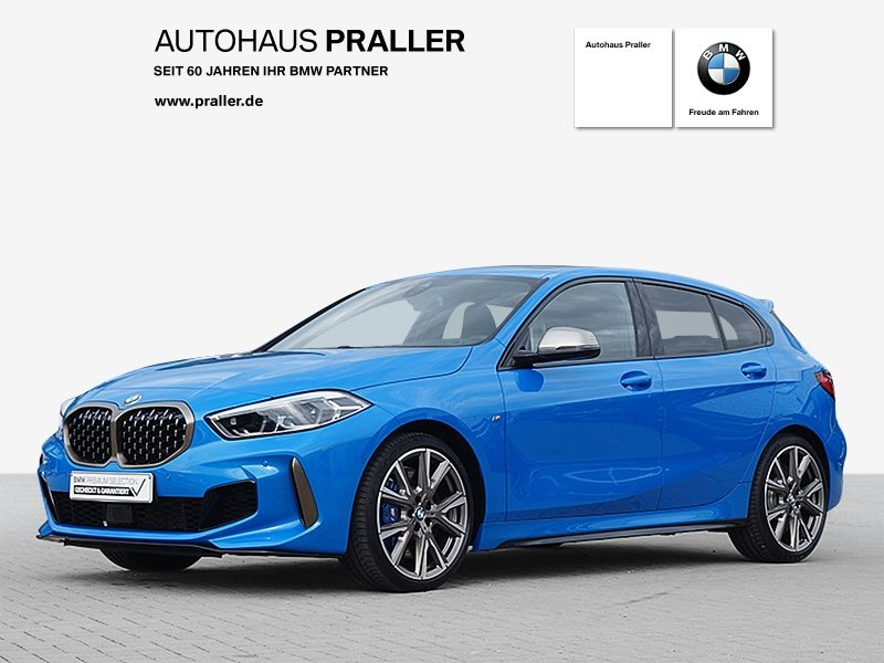 BMW M135i xDrive Head-Up HK HiFi DAB LED WLAN Shz, Jahr 2019, Benzin