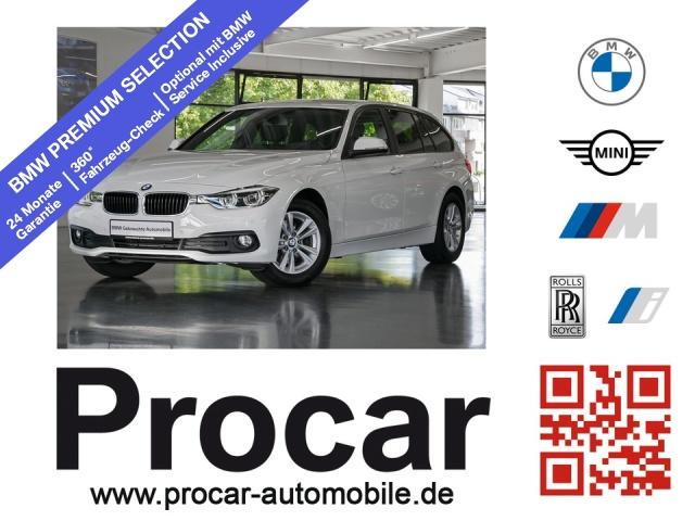 BMW 320d Touring Advantage Nav LED Sportsz PDC Hifi, Jahr 2017, Diesel