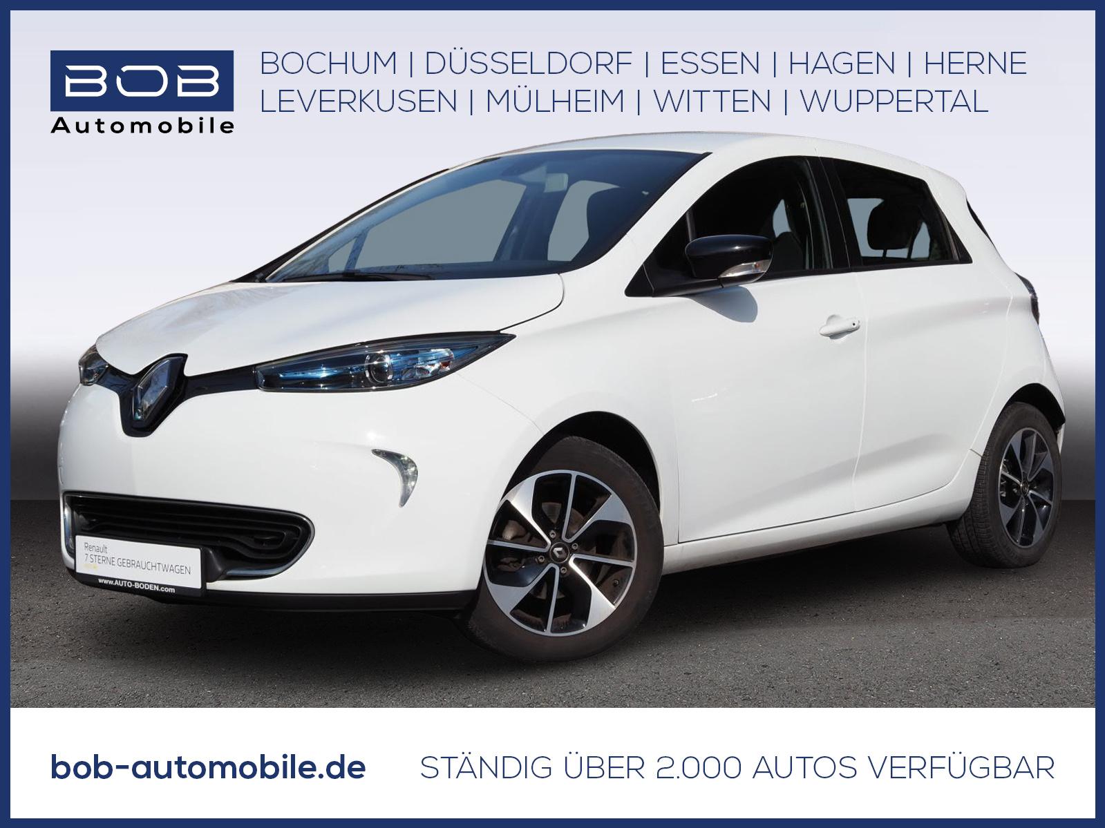 Renault ZOE INTENS zzgl. Batterie NAVI PDC KLIMA, Jahr 2018, Elektro
