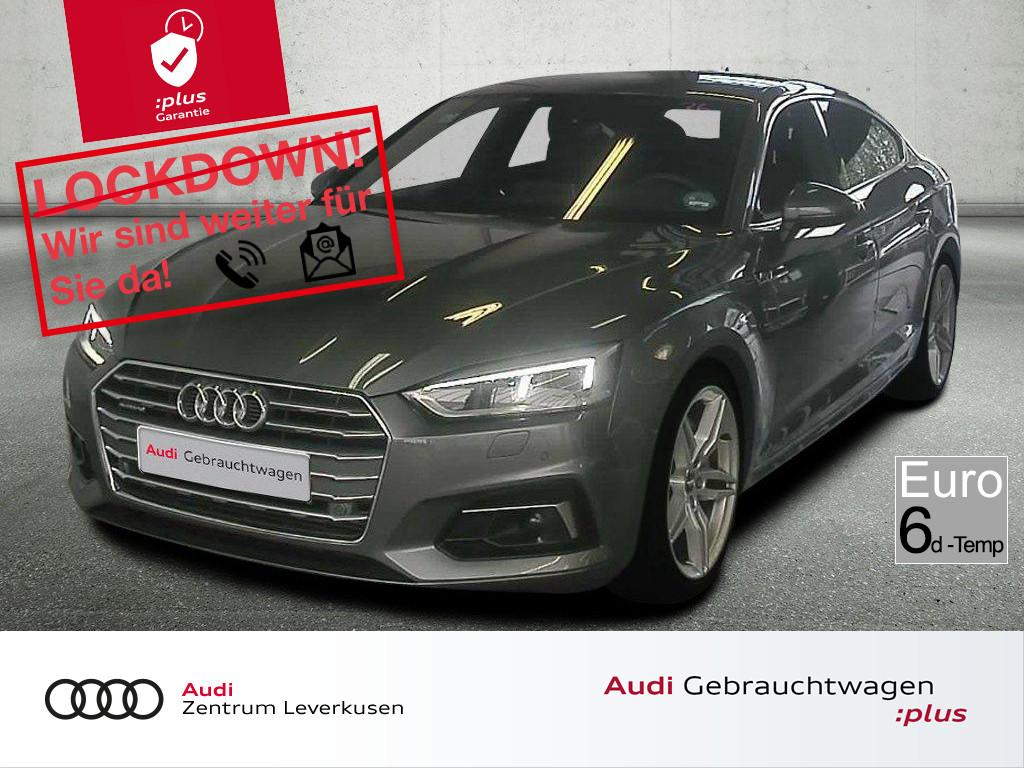 Audi A5 Sportback 45 quattro sport TIPTR KAMERA LED, Jahr 2019, Diesel