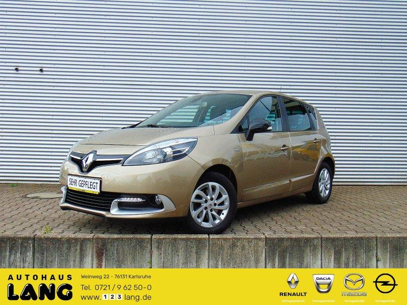 Renault Scenic 1.5 dCi 110 FAP EU6 Limited Navi Klimaautomatik, Jahr 2015, Diesel