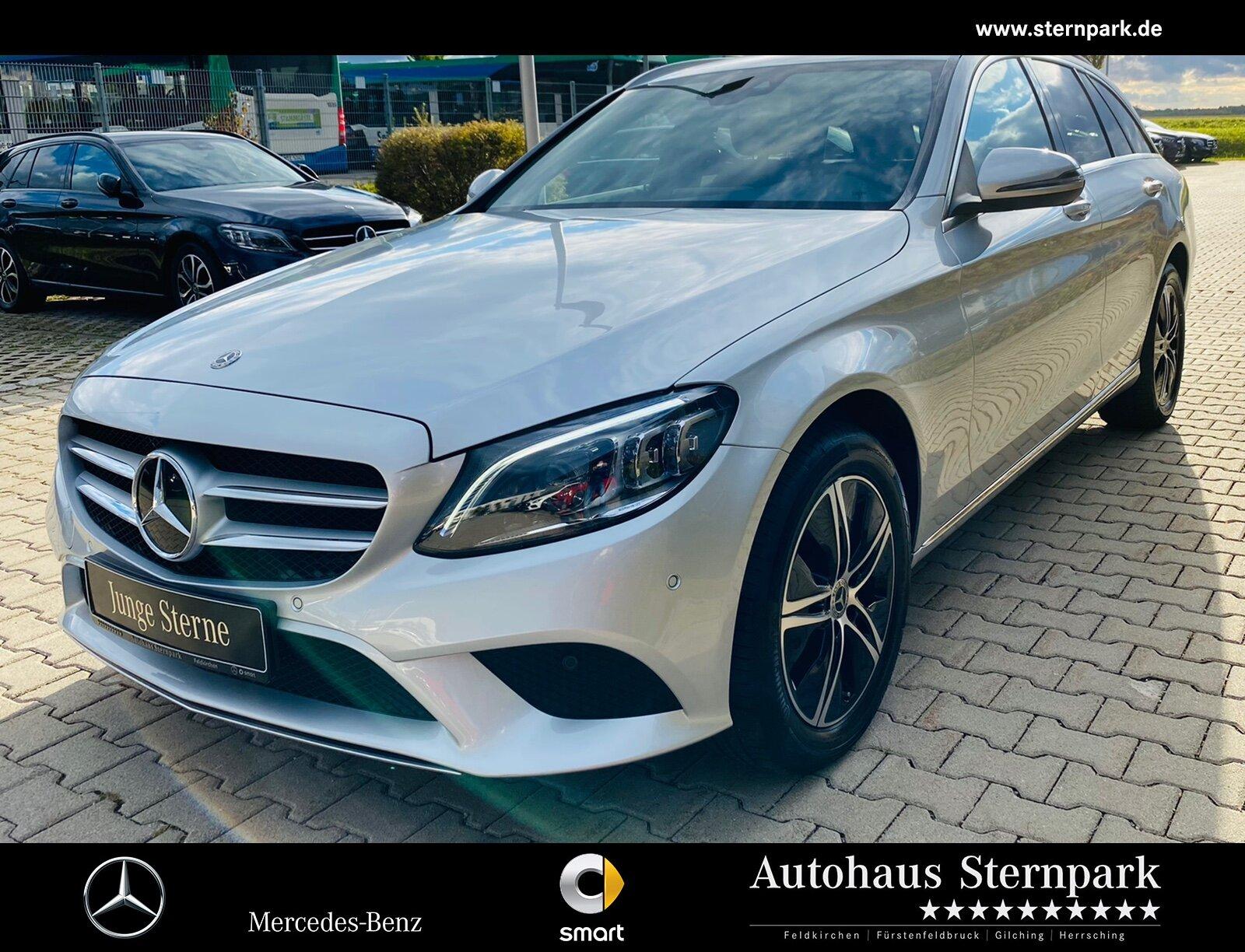 Mercedes-Benz C 220 d 4M T Avantgarde +Comand+LED+Kamera+STH+, Jahr 2020, Diesel
