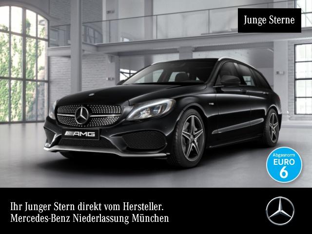 Mercedes-Benz C 43 AMG T 4M Burmester COMAND LED Kamera PTS 9G, Jahr 2016, petrol