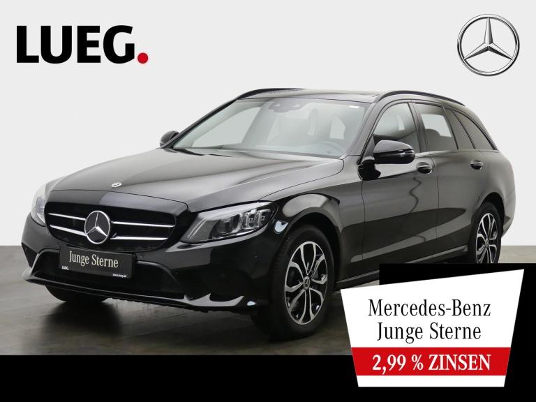 Mercedes-Benz C 400 T 4M Avantgarde+COM+Pano+Mbeam+Night+SpurP, Jahr 2019, Benzin