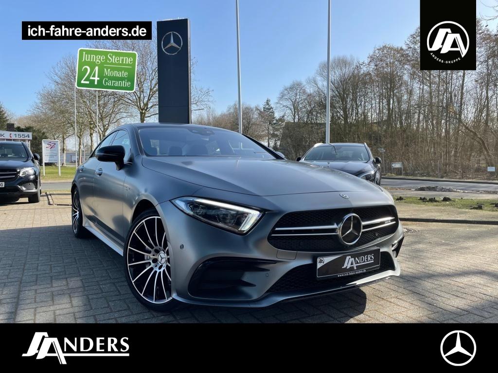 Mercedes-Benz CLS 53 4M+ AMG+Comand+Distr.+SHZ+Wide+Kam+Sitzkl, Jahr 2019, Benzin