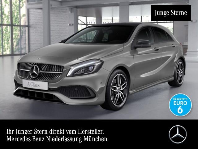 Mercedes-Benz A 250 4M AMG Pano LED Night Navi Totwinkel PTS, Jahr 2017, Benzin