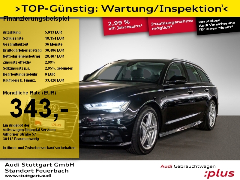 Audi A6 Avant 3.0 TDI quattro AHK Pano ACC PDCplus, Jahr 2018, Diesel