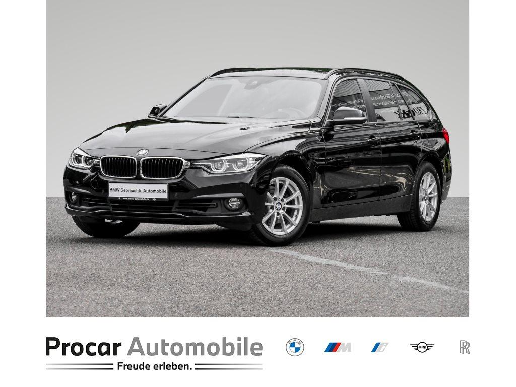 BMW 320i TOURING+ADVANTAGE+HUD+LED+NAVI BUS.+SITZHEIZUNG+, Jahr 2018, Benzin