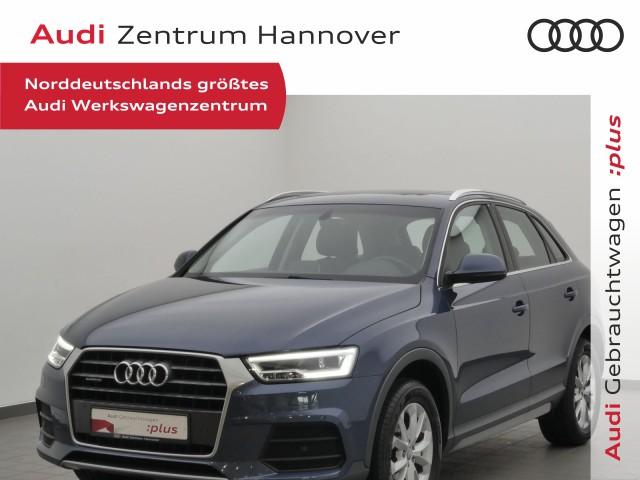 Audi Q3 2.0 TDI qu. design, Pan, LED, AHK, Leder, Navi, Jahr 2016, Diesel