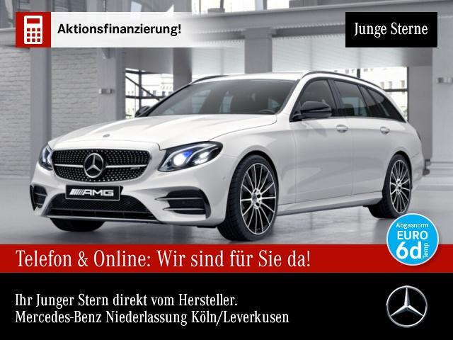 """Mercedes-Benz E 53 AMG T 4M+ Fahrass.Wide.COM.HuD.20"""".Stdhzg., Jahr 2018, petrol"""