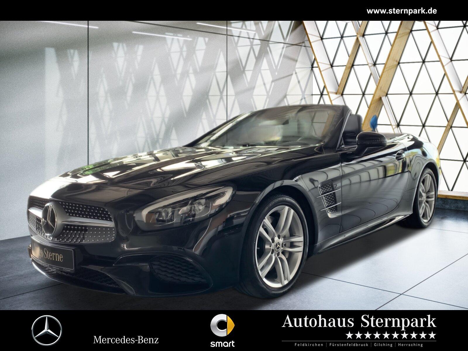 Mercedes-Benz SL 500 AMG Comand+Pano+Distronic+Kamera+Keyless+, Jahr 2017, Benzin
