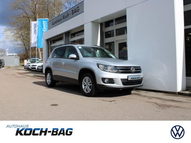"""Volkswagen Tiguan Trend & Fun AHK GRA MFA SHZ LM 16"""" PDC TFL, Jahr 2013, diesel"""