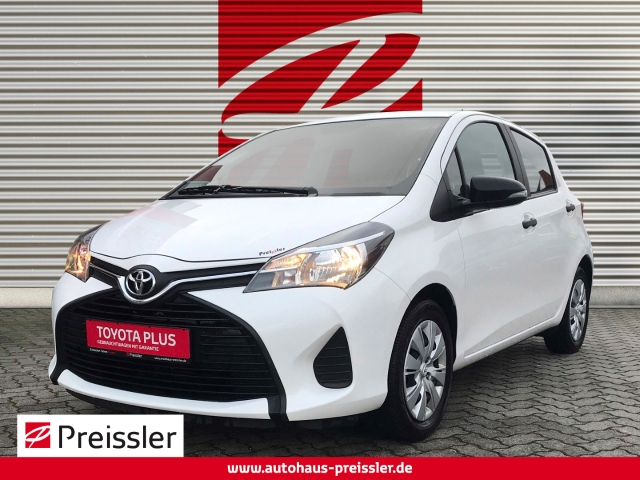 Toyota Yaris 1.0 5-Türer Knieairbag Klima CD MP3 ESP Seitenairb. Radio Airb ABS Servo, Jahr 2014, petrol