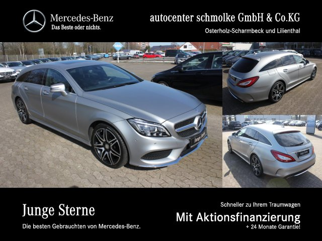Mercedes-Benz CLS 400 4-M SB AMG-LINE*MEMORY*AHK*RFK*MULTIBEAM, Jahr 2016, Benzin