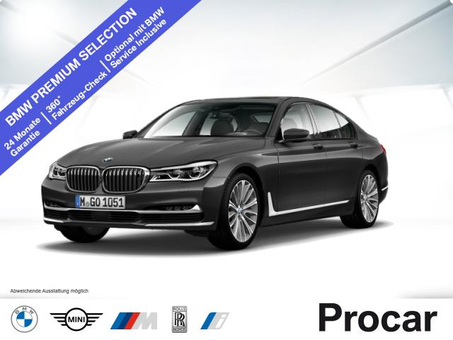 BMW 750i xDrive Head-Up DA+ B&W Night Vision Standhz, Jahr 2015, Benzin
