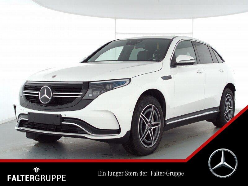 Mercedes-Benz EQC 400 80.926,-AMG 360°DISTRO GSD AR schw.Glas, Jahr 2020, Elektro