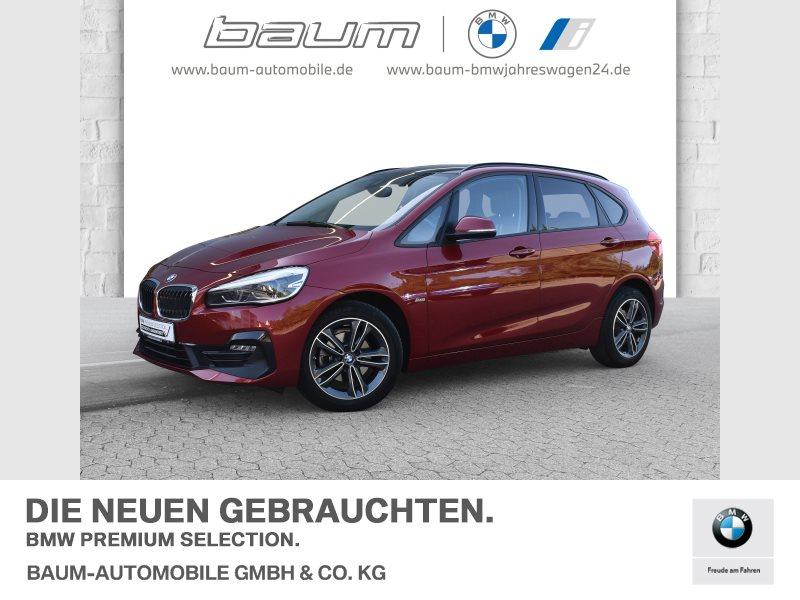 BMW 216d Active Tourer Sport Line LED Tempomat Shz, Jahr 2018, Diesel