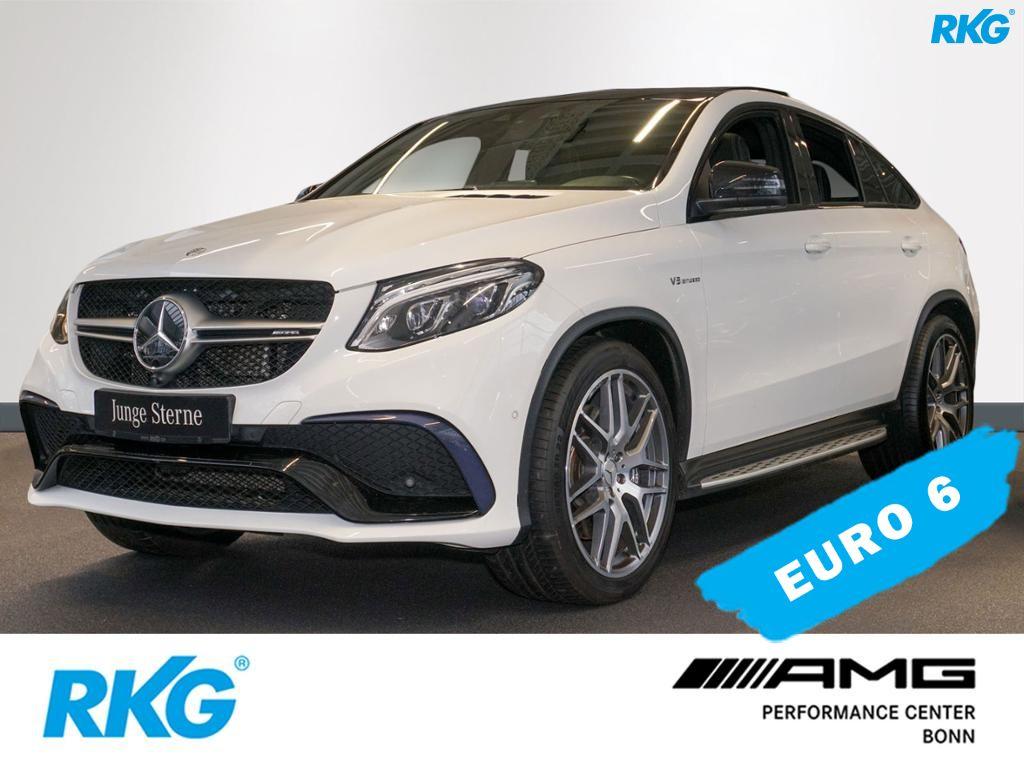 Mercedes-Benz GLE 63 AMG 4M Coupé Harman*Sitzklima*Drivers P.*, Jahr 2016, petrol