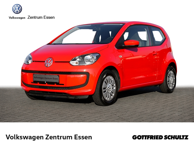 Volkswagen up! Move 1,0 Klima PDC ZV+FB, Jahr 2014, Benzin