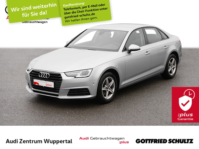 Audi A4 Lim.1.4TFSI NAV CONNECT SHZ XEN PDC VO HI GRA B, Jahr 2017, Benzin