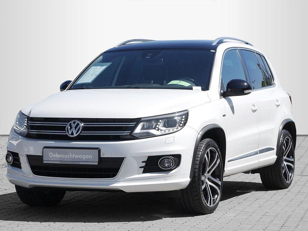 Volkswagen Tiguan 2.0TDI DSG CityScape R-Line 4x4 P-DACH NAVI, Jahr 2015, Diesel