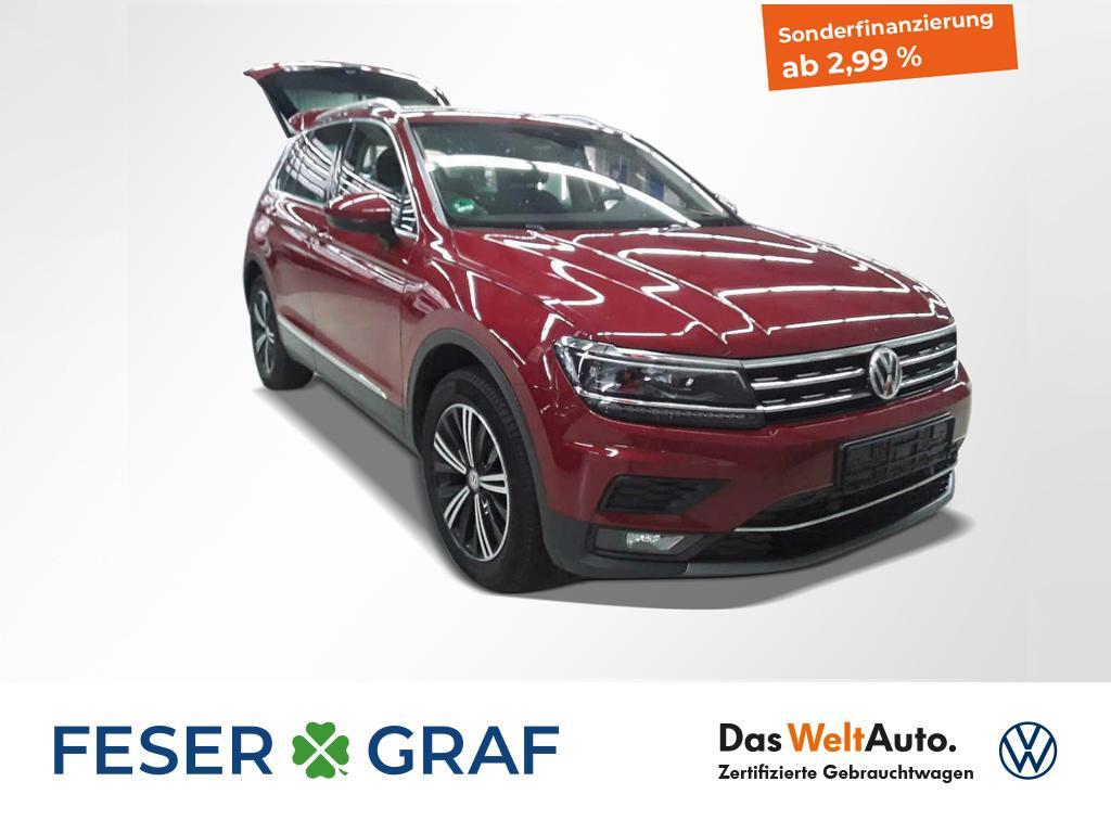 Volkswagen Tiguan 2.0TDI Highline 4x4 DSG AHK LED DCC Activ, Jahr 2017, Diesel