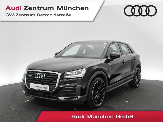 "Audi Q2 2.0 TFSI qu. 19"" Virtual LED Navi Leder Sportsitze PDCplus PhoneBox S tronic, Jahr 2017, petrol"