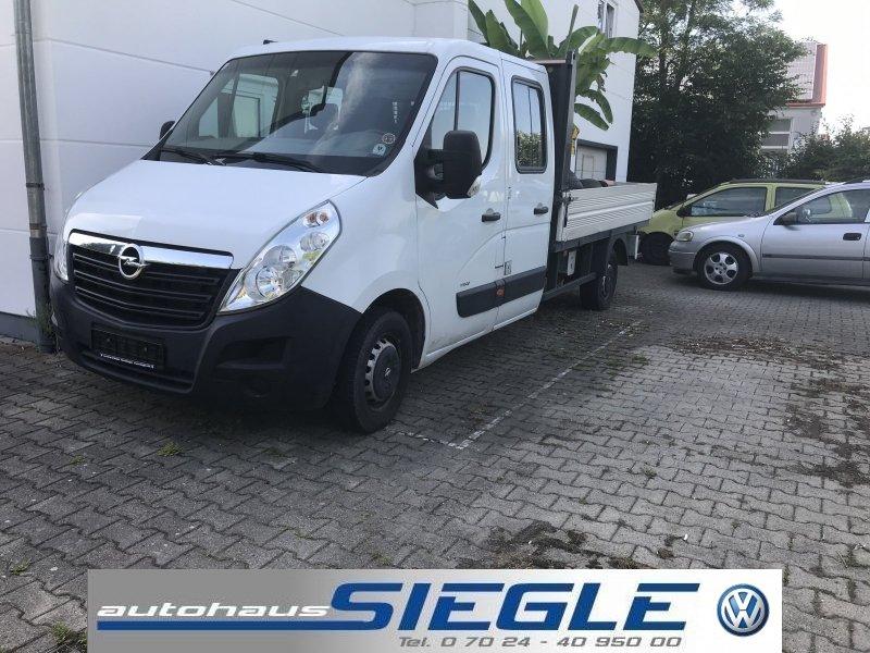 Opel Movano Doppelkabine Doka Pritsche Klima 6-Sitze, Jahr 2013, Diesel
