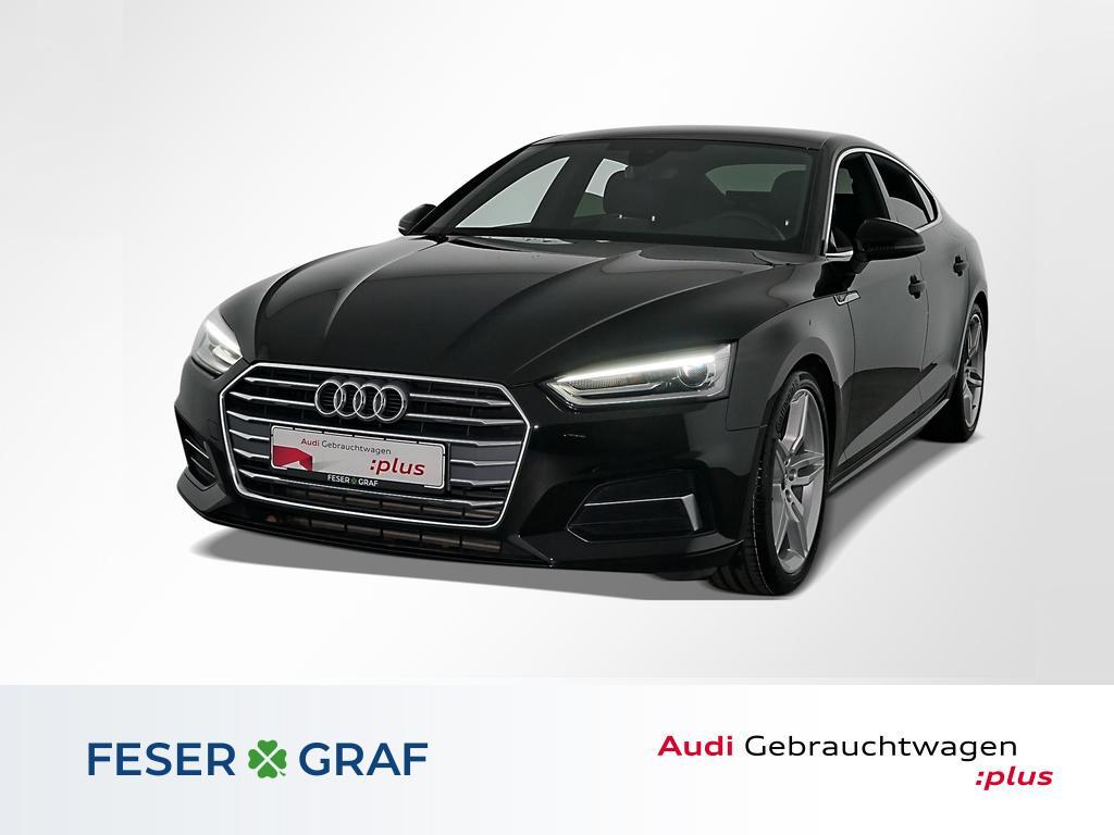 Audi A5 Sportback 40TFSI S line/Navi/Xenon/AHK/19, Jahr 2019, Benzin