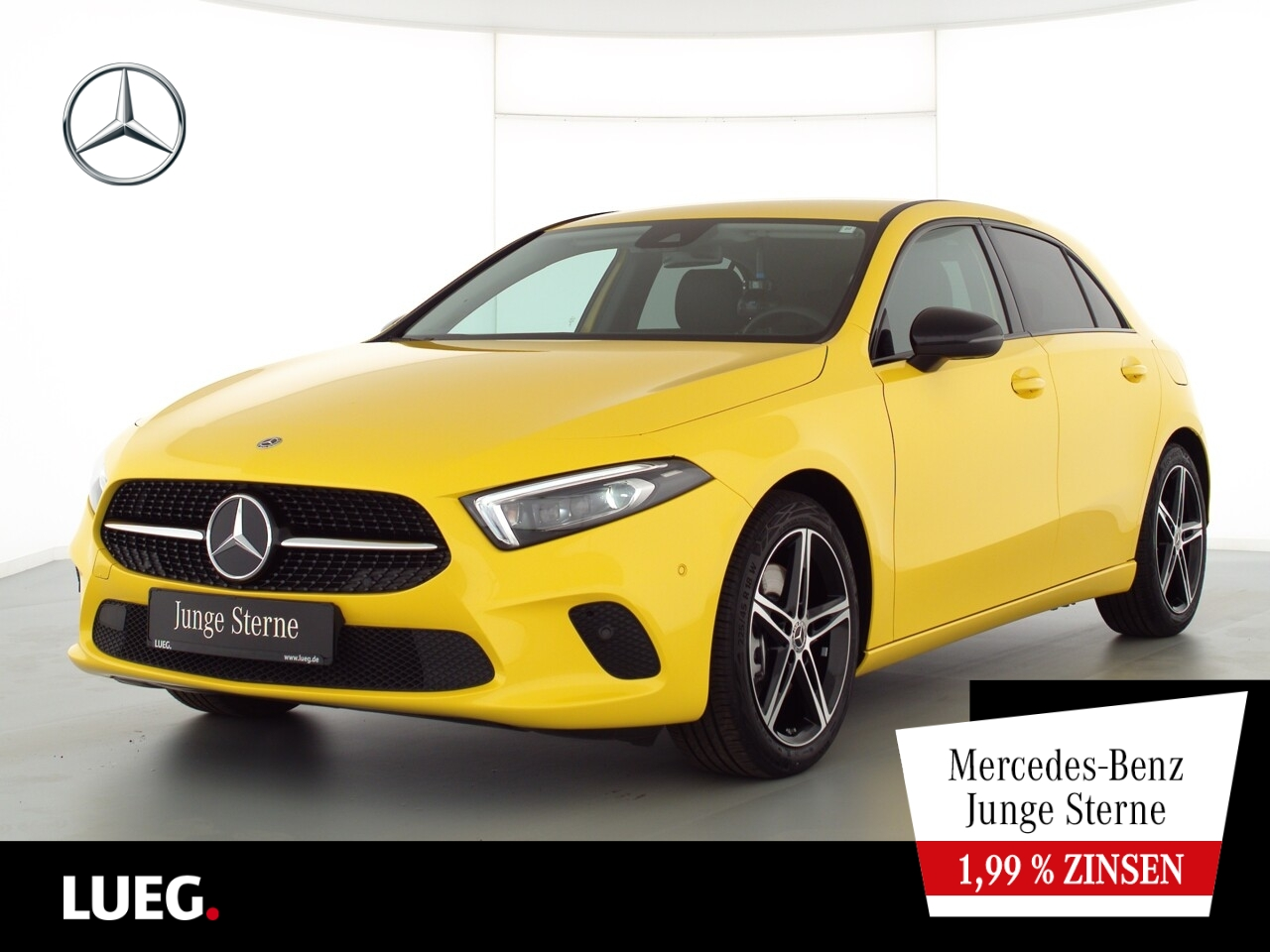 Mercedes-Benz A 250 Progressive+MBUX+NavPrem+Mbeam+AHK+NightP, Jahr 2020, Benzin