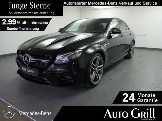 Mercedes-Benz E 63 AMG 4M+ LED Widescreen Burm HeadUp RüKam, Jahr 2018, Benzin