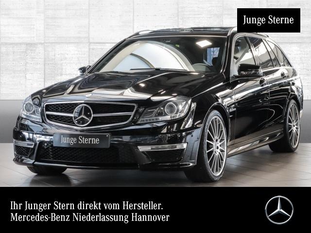 Mercedes-Benz C 63 AMG T designo ILS COMAND Fahrass+ Harman SD, Jahr 2014, petrol