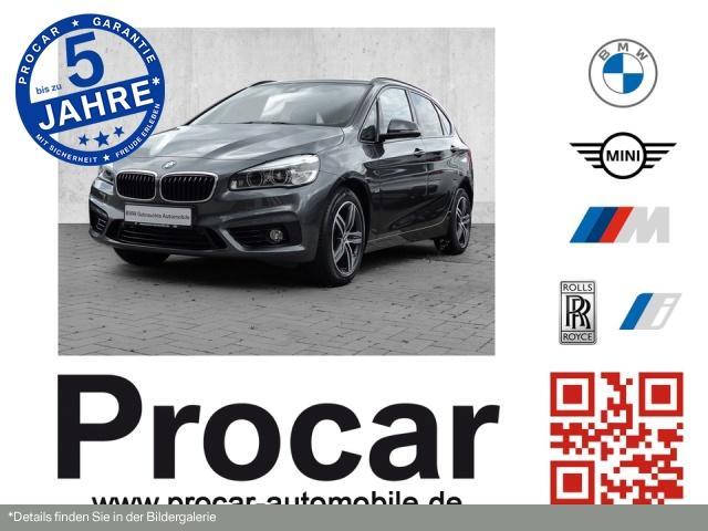 BMW 218 Active Tourer Sport Line Aut. Panorama PDC, Jahr 2016, Diesel
