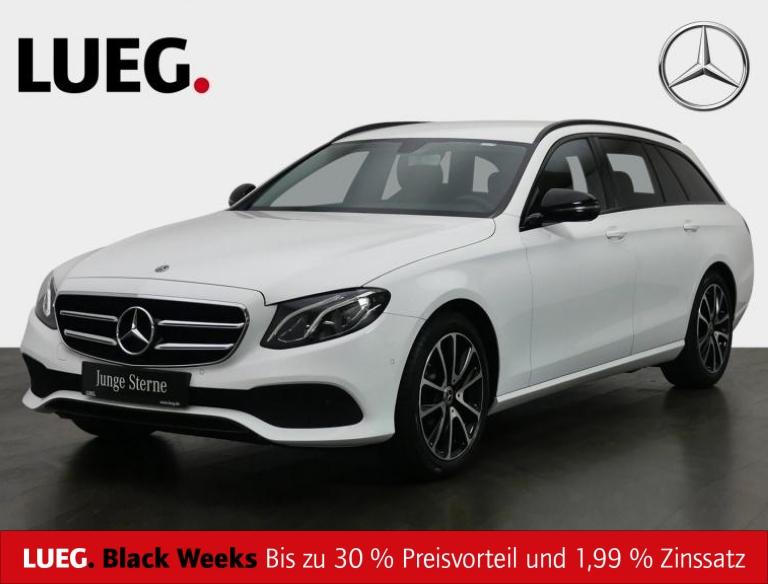 Mercedes-Benz E 200 T 4M Avantgarde+Navi+LED-HP+Night+18''+RFK, Jahr 2019, Benzin
