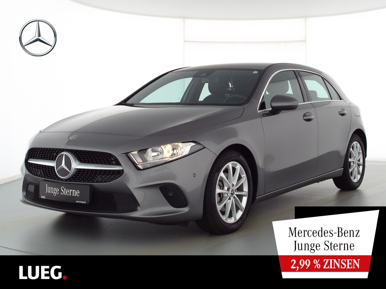 Mercedes-Benz A 180 Progressive+MBUX+NavPrem+ParkAssist+Kamera, Jahr 2020, Benzin