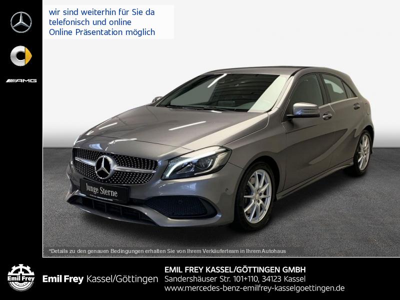 Mercedes-Benz A 220 d 7G AMG+MemoSitz+LED+COMAND+Spur, Jahr 2016, Diesel