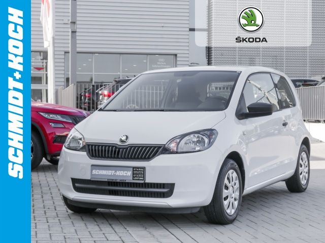 Skoda Citigo 1.0 EcoFuel CNG Klima Radio/CD Radio m. MP3, Jahr 2014, gas