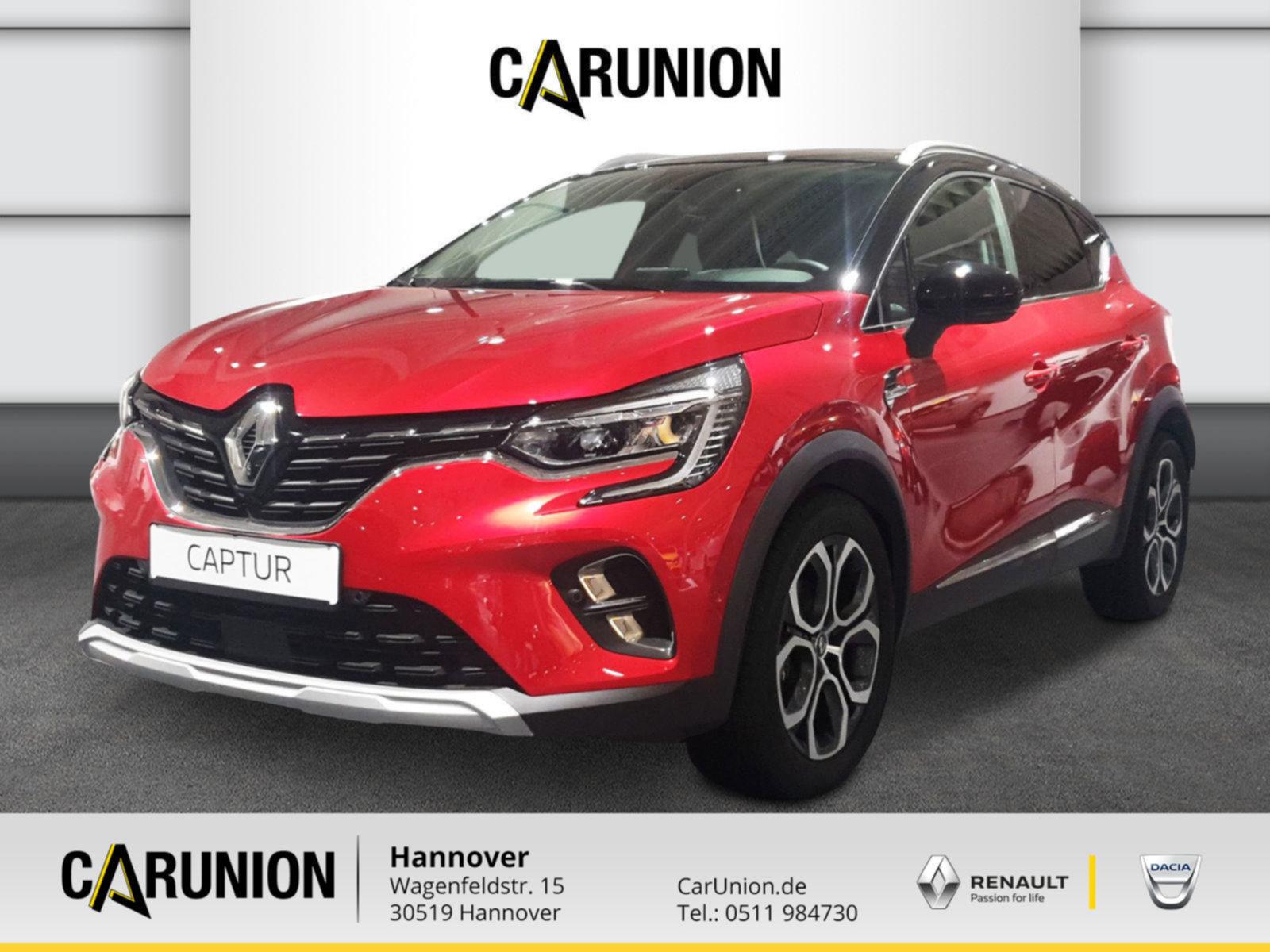 Renault Captur INTENS TCe 155 EDC GPF, Jahr 2021, Benzin