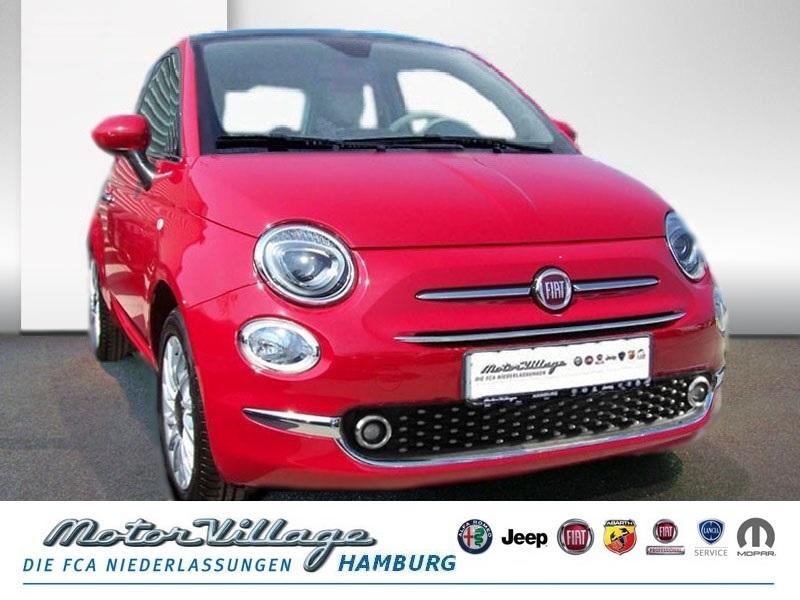 Fiat 500 1.2 8V Lounge 51kW (69PS) E6D Pano Klima PDC, Jahr 2019, Benzin