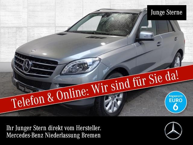 Mercedes-Benz ML 250 4M BT Sportpak Distr. COMAND SHD ILS AHK, Jahr 2014, Diesel