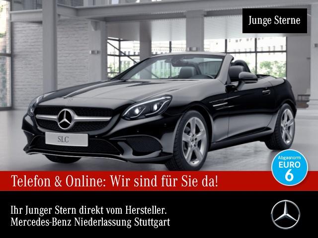 Mercedes-Benz SLC 180 Pano ILS LED Navi Spurhalt-Ass SpurPak PTS, Jahr 2017, Benzin