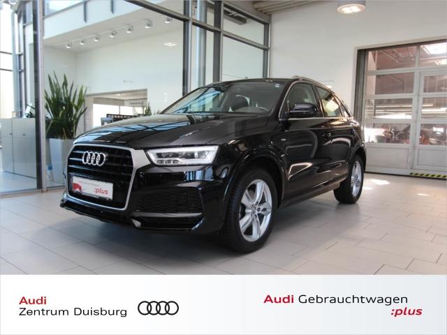Audi Q3 1.4 TFSI sport S-tronic S-line Panoramadach, Jahr 2018, Benzin