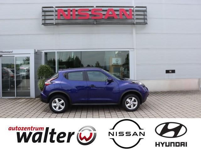 Nissan Juke Visia Plus, 1.6, Klimaanlage, Bordcomputer, Jahr 2017, Benzin