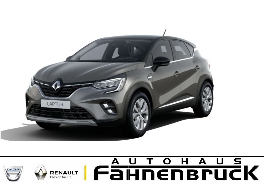 "Renault Captur TCe 90 INTENS *City-Komfort-Paket*9,3""""*, Jahr 2021, petrol"
